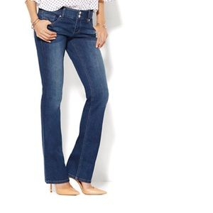 New York and company CURVE CREATOR BOOTCUT JEANS